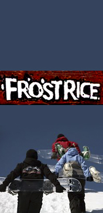 FROSTRICE SNOWBOARD SKI BIKE