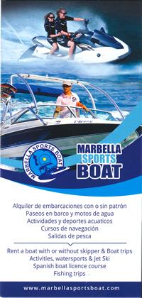 MARBELLA SPORTS BOAT 2016