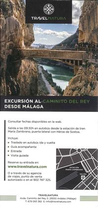 CAMINITO DEL REY TRAVELNATURA 2020
